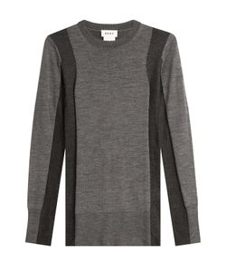 DKNY | Two-Tone Pullover With Merino Wool Gr. S
