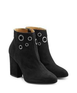 Sonia Rykiel   Embellished Suede Ankle Boots Gr. Eu 38
