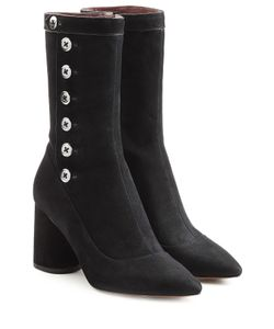 Marc Jacobs | Suede Boots With Button Embellishment Gr. It 385