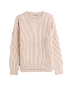 Vince | Wool-Silk-Cashmere Ribbed Knit Pullover Gr. M