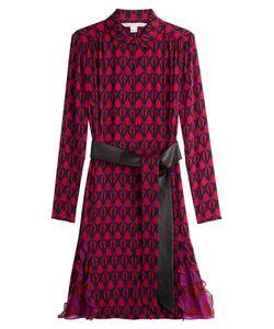 Diane von Furstenberg | Printed Silk Shirt Dress Gr. Us 6