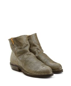 Fiorentini & Baker | Textured Leather Ankle Boots Gr. It 36
