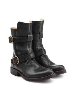 Fiorentini & Baker | Leather Biker Boots Gr. It 39