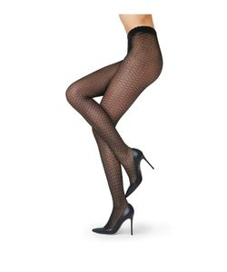 Fogal | Lace Tights Gr. M