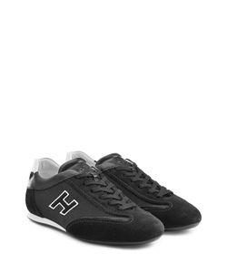 Hogan   Suede And Mesh Sneakers Gr. Uk 8