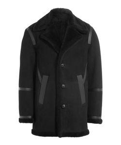 Neil Barrett | Sheepskin Coat With Leather Gr. M