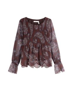 See by Chloé | Printed Blouse Gr. Fr 38