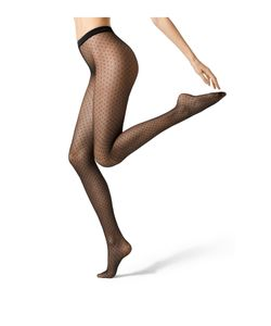 Fogal | Spotted 15 Denier Tights Gr. M