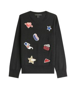 Marc Jacobs | Wool Pullover With Embellished Patches Gr. M