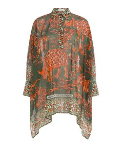 Valentino | Printed Cotton Tunic Top Gr. It 38