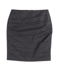 Paule Ka | Ruched Cotton Skirt Gr. 36