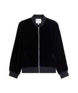 Frame Denim | Velvet Bomber Jacket Gr. M