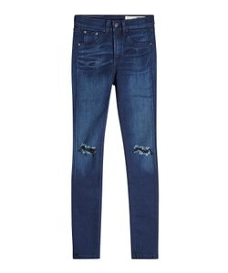 Rag & Bone | Distressed Skinny Jeans Gr. 28