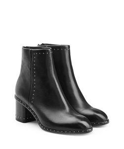 Rag & Bone | Embellished Leather Ankle Boots Gr. It 36