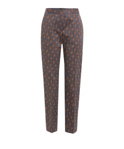 Burberry London | Printed Cotton Pants Gr. Uk 8
