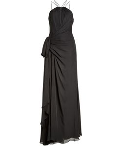 Roberto Cavalli | Silk Chiffon Floor Length Gown Gr. It 38