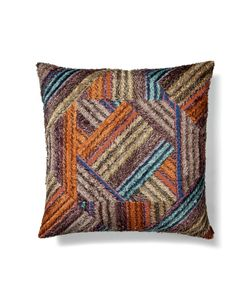 Missoni Home | Cotton Mosaic Stripe Cushion Gr. One Size