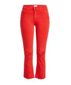 Mother   Insider Cropped Jeans Gr. 31