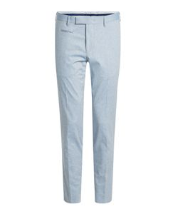 Baldessarini | Tapered Cotton Pants Gr. Eu 48