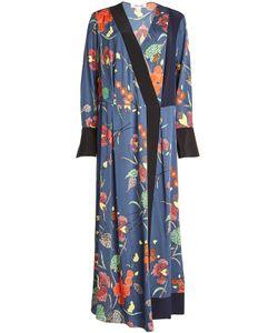 Diane von Furstenberg | Printed Silk-Blend Dress Gr. M