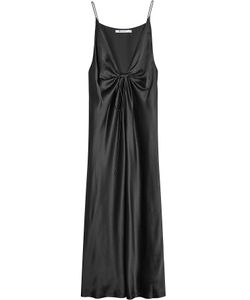 T by Alexander Wang | Silk Dress With Knotted Front Gr. Us 8