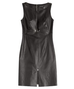 Jitrois | Leather Dress With Keyhole Front Gr. 36