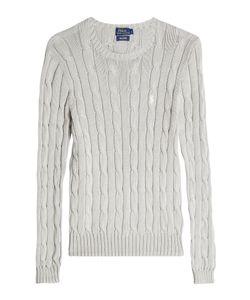 Polo Ralph Lauren   Cotton Cable Knit Pullover Gr. M