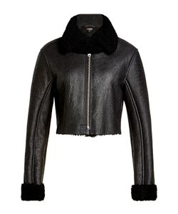 Yeezy | Leather Jacket Wth Shearling Gr. M