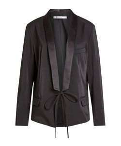 T by Alexander Wang | Satin Jacket With Self-Tie Front Gr. Us 8