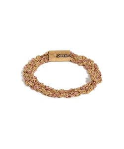 Carolina Bucci | Gold/Rose Gold Woven Chain Bracelet Gr. One Size