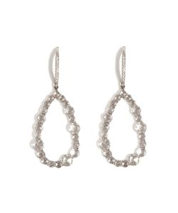 Susan Foster | 14k White Gold Chandelier Earrings With Diamonds Gr. One Size