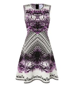 Hervé Léger | Printed Cocktail Dress Gr. Xs