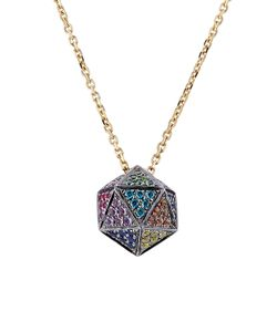 Noor Fares | 18kt Icosagon Pendant Necklace With Diamonds Gr. One Size