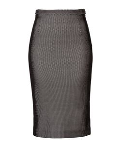 Tamara Mellon | Bonded Fishnet Pencil Skirt Gr. Us 8