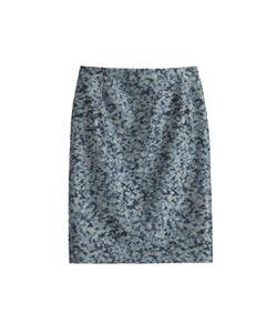 Bouchra Jarrar | Cloqué Pencil Skirt Gr. Fr 40