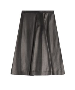 Burberry London | Leather Skirt Gr. Uk 12
