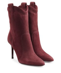 Tamara Mellon | Suede Ankle Boots Gr. It 39