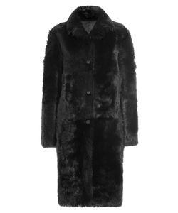Jil Sander   Volterra Shearling And Lamb Leather Coat Gr. De 38