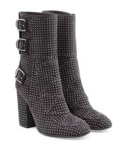 Laurence Dacade | Embellished Suede Ankle Boots Gr. It 41