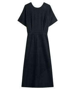 Jil Sander   Virgin Wool Midi Dress Gr. De 40