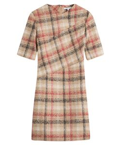 Carven | Checked Dress With Wool Gr. Fr 42