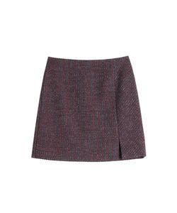Carven | Tweed Mini Skirt With Wool Gr. Fr 40