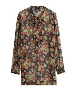 Polo Ralph Lauren   Printed Silk Blouse Gr. Us 8