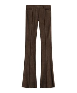 Jitrois | Flared Suede Pants Gr. Fr 36