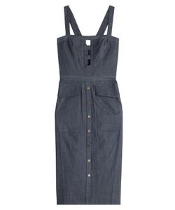 Tamara Mellon | Denim Dress With Cut-Out Detail Gr. Us 4