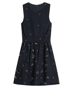 Vanessa Bruno Athé | Embellished Dress With Wool Gr. Fr 38