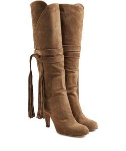 Chloé | Suede Knee Boots Gr. It 40