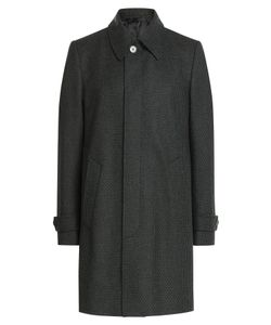 Baldessarini | Wool Coat With Cashmere Gr. Eu 48
