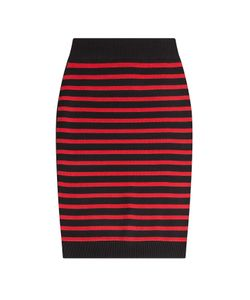 Marc by Marc Jacobs | Striped Merino Wool Skirt Gr. Xs