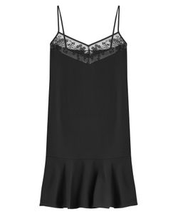 Carven | Slip Dress With Embroidery Gr. Fr 38